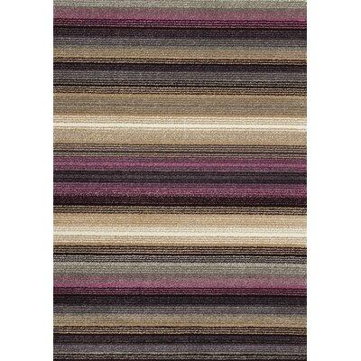 Aubuchon Stripes Area Rug Rug Size: 710 x 1010