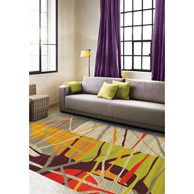 Brayden Studio Caster Abstract Texture Area Rug