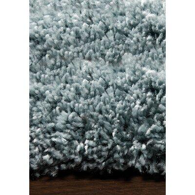 Bunderberg Sky Blue Solid Area Rug Rug Size: 710 x 1010