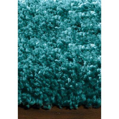 Bunderberg Teal Solid Area Rug Rug Size: 710 x 1010