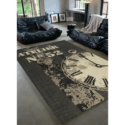 Flanigan French Workshop Rug Rug Size: 53 x 77