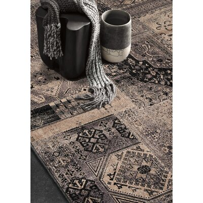 Lunceford Brilliant Dark Area Rug Rug Size: 67 x 910