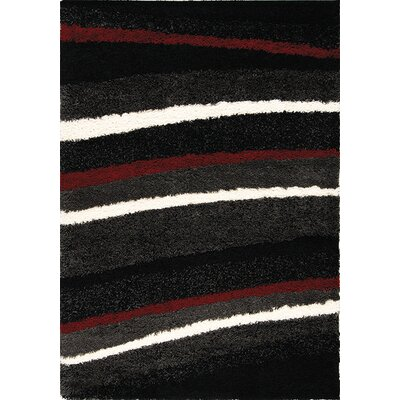 Ceto Red/White Area Rug Rug Size: 311 x 57