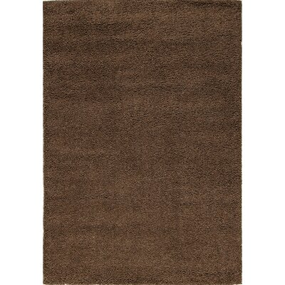 Lorene Brown Area Rug Rug Size: 53 x 77