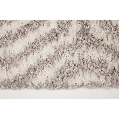 Gilkes Light Gray/White Area Rug