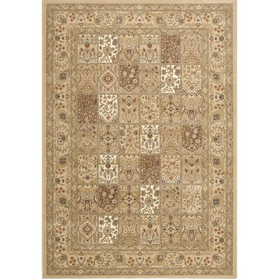 Bartleys Light Traditional Area Rug Rug Size: 53 x 77