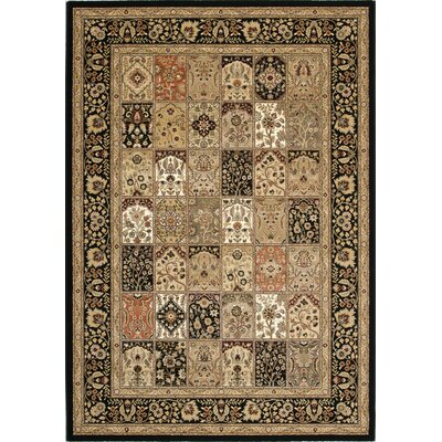 Bartleys Dark Traditional Area Rug Rug Size: 710 x 1010
