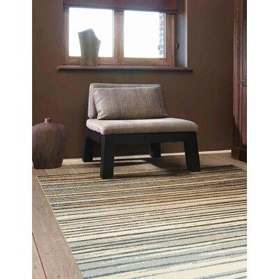 Baumgart Gradient Stripes Rug Rug Size: 53 x 77