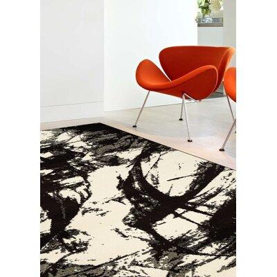 Baumgart Dark Organics Rug Rug Size: 53 x 77
