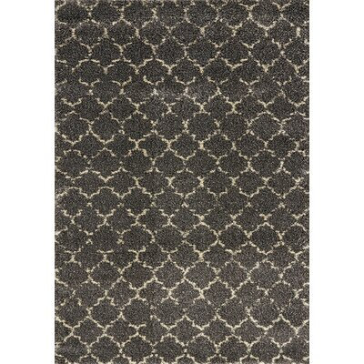 Lapeer Gray Scroll Area Rug Rug Size: 710 x 112