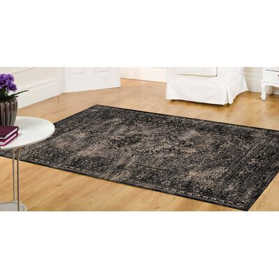 Lunceford Old World Taupe Area Rug Rug Size: 57 x 710