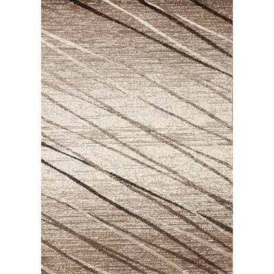 Copenhaver Brown Stripes Area Rug Rug Size: 710 x 1010