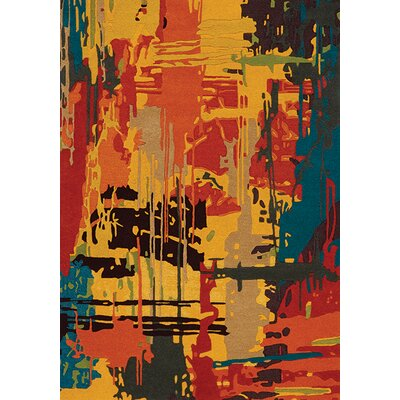 Dones Area Rug Rug Size: 53 x 77