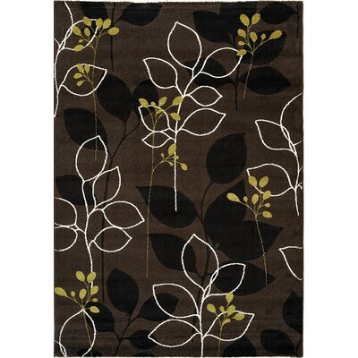 Lyme Brown Magical Forest Area Rug Rug Size: 53 x 77