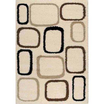 Cornett Cream Cobblestone Area Rug Rug Size: 710 x 106