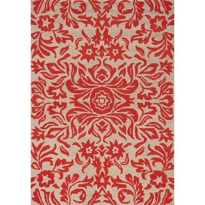 Eilene Red Area Rug Rug Size: 710 x 106