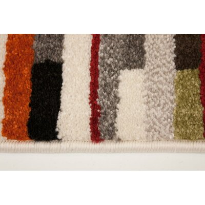 Rundall Colorblocking Area Rug Rug Size: 710 x 1010