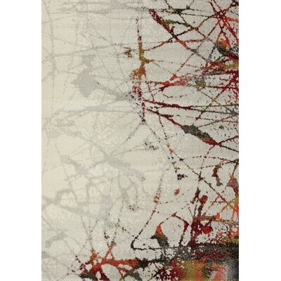 Greve Splatter Cream Area Rug