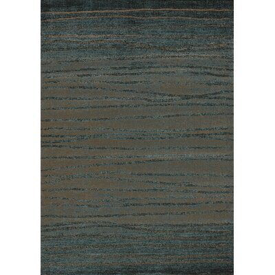 Kailee Twigs Brown/Blue Area Rug Rug Size: 2' x 3'7
