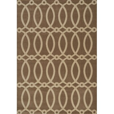 Katina Loop Brown Area Rug Rug Size: 710 x 106