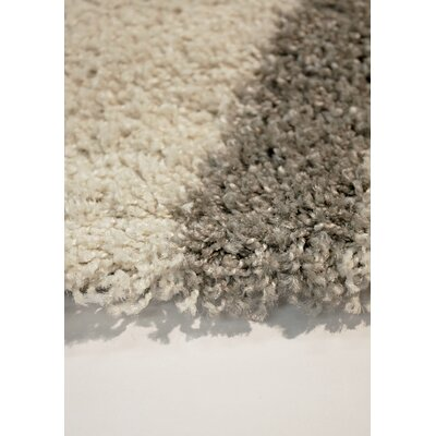 Rundey Tree Branch Cream/Taupe Area Rug Rug Size: 53 x 77
