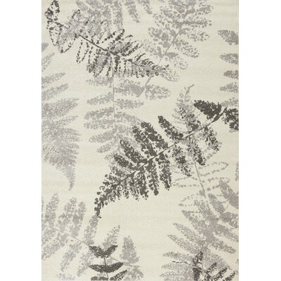 Lyonsdale Wheat Cream Area Rug Rug Size: 53 x 77