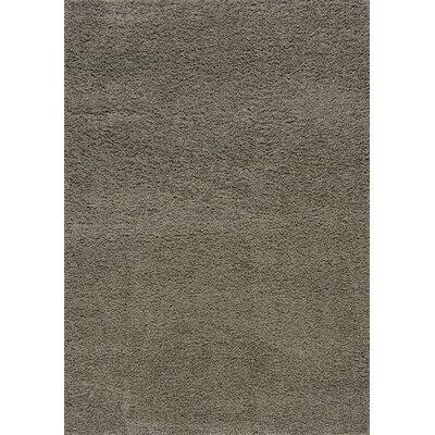 Burchett Gray Shag Area Rug Rug Size: 710 x 106