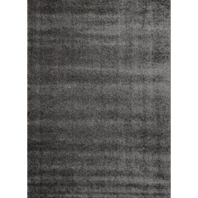 Stanley Glitz Low Pile Gray Shag Area Rug Rug Size: 710 x 1010