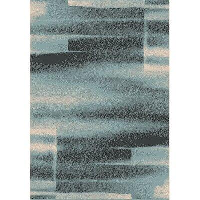 Aubuchon Gray Area Rug Rug Size: 710 x 1010