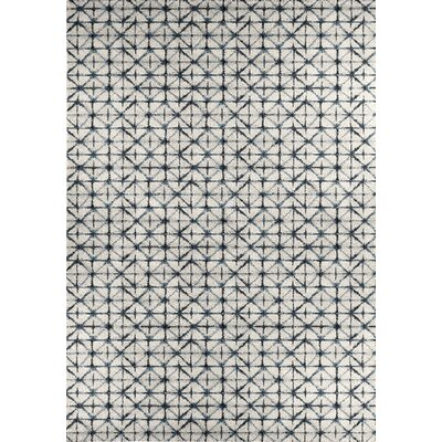 Aubuchon Gray Area Rug Rug Size: Rectangle 53 x 77