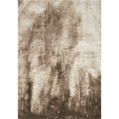 Esqueda Cream/Brown Area Rug Rug Size: 710 x 106