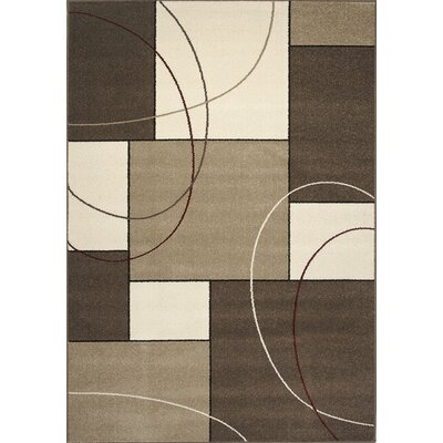 Monterrey Taupe Cream Area Rug Rug Size: Rectangle 53 x 77