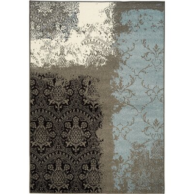 Poteat Grey Area Rug