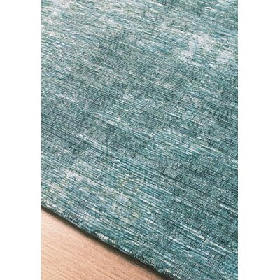 Brodsky Blue Area Rug Rug Size: Rectangle 76 x 1010