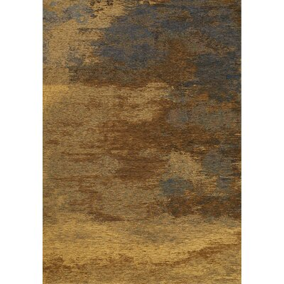 Emory Brown/Gray Area Rug Rug Size: 51 x 77