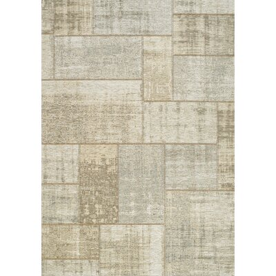 Emory Cream/Gray Area Rug Rug Size: Rectangle 51 x 77