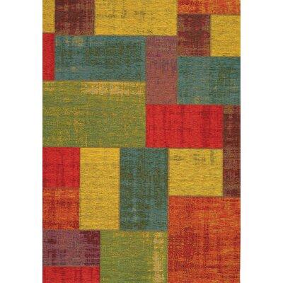 Brodsky Area Rug Rug Size: 51 x 77