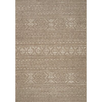 Danica Tan/Cream Area Rug Rug Size: 710 x 1010