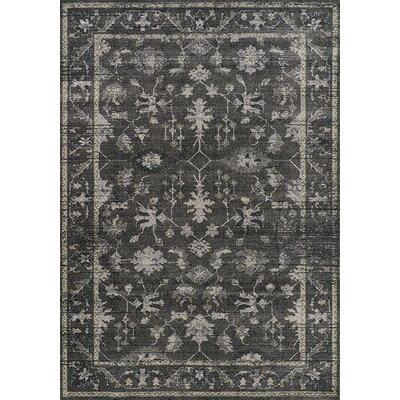 Falmer Chandelier Charcoal/Beige Area Rug Rug Size: 710 x 106
