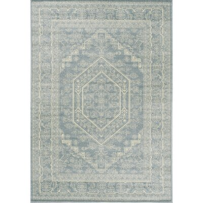 Potter Blue Area Rug Rug Size: 710 x 106