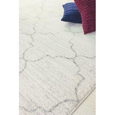 Falstaff Gray Area Rug Rug Size: 710 x 106