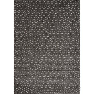 Clara Charcoal Area Rug Rug Size: 710 x 1010