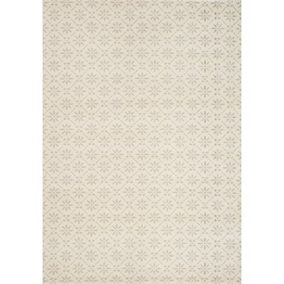 Pendle Cream/Tan Area Rug Rug Size: 53 x 77