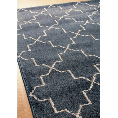 Farnborough Navy Area Rug Rug Size: 710 x 1010