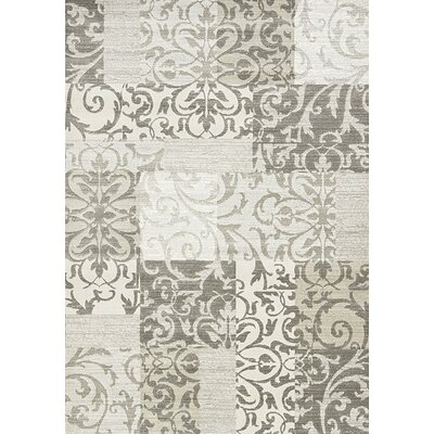 Montgomery Gray Area Rug Rug Size: 53 x 77