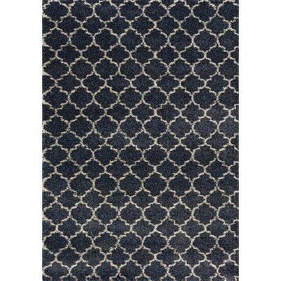 Fernson Gray Area Rug Rug Size: 53 x 77
