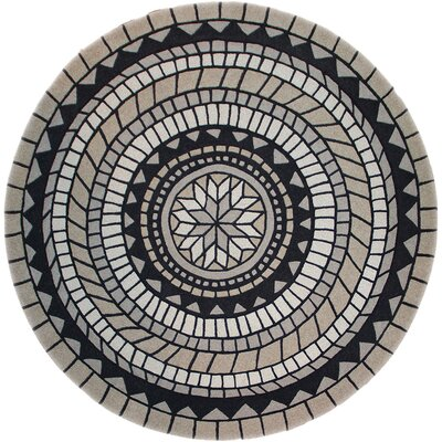 Lymon Gray/Black Area Rug