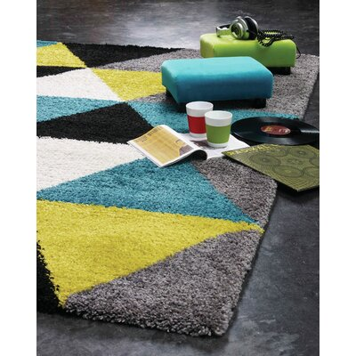 Delgadillo Triangles Area Rug Rug Size: Rectangle 7?10 x 10?10