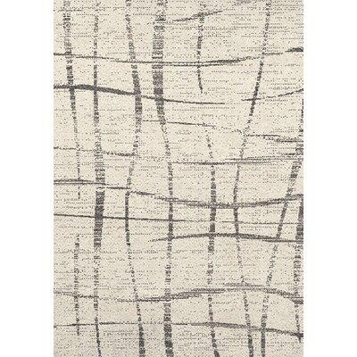 Garey Beige/Gray Area Rug Rug Size: 7'10