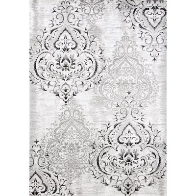 Adrianne Silver Area Rug